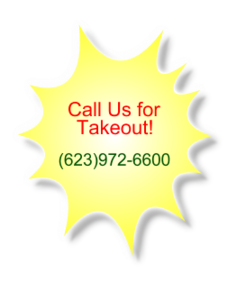 Call Us for Takeout!